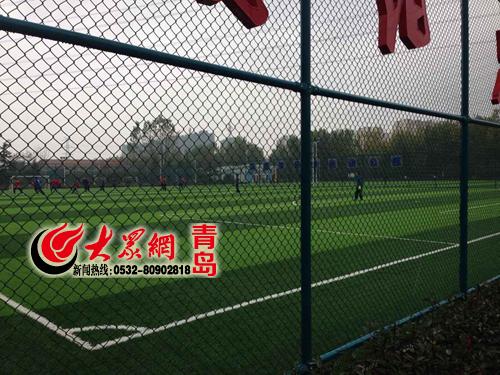 笼式足球场在城阳区随处可见图片