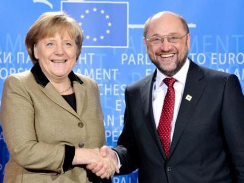 默克尔与舒尔茨差距缩小 德国大选选情仍未明朗