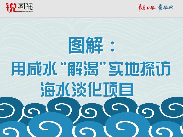 """用咸水""""解渴""""实地探访海水淡化项目"""