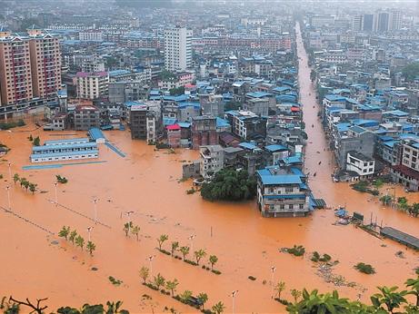 南方再遭强降水袭击 已致桂湘9人死亡1人失踪