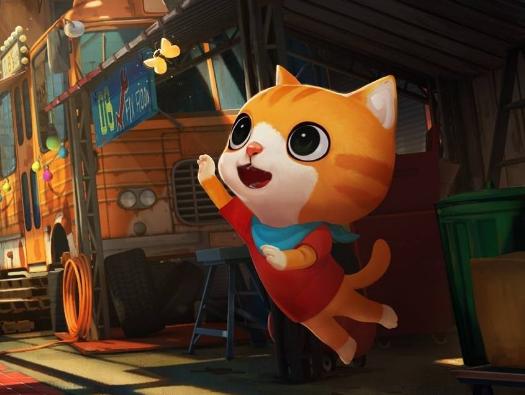 动画长片《小猫巴克里》 定档在12.30号