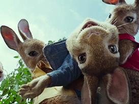 """《比得兔》曝""""萌兔""""预告 2月9日在北美上映"""