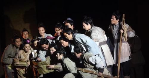 中国原创话剧邀请展开幕 八成剧目为现实题材