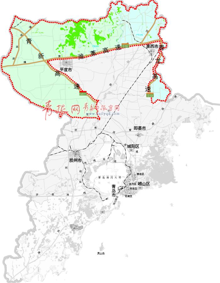 北部绿色生态屏障规划区图。.png