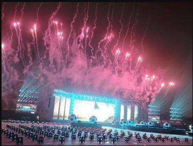 """2019""""哥德杯中國""""世界青少年足球賽在青開幕"""
