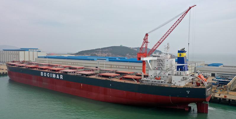 青島造船廠開工復產趕制海外訂單