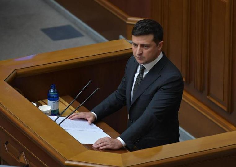 烏克蘭總統澤連斯基新冠病毒檢測結果呈陽性