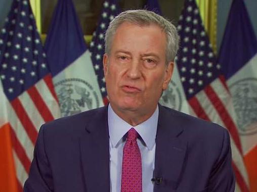 美國紐約市市長:因新冠肺炎,紐約市可能全面封鎖