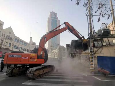 中山路商業步行街建設拆違攻堅戰今天打響