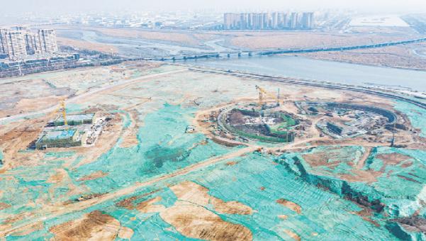 青島東方伊甸園項目預計2022年底完工