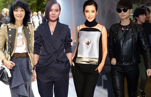 巴黎周中国女星用力过猛?