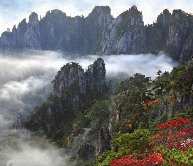 黄山:难以抗拒的秋色诱惑